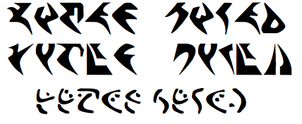 klingon writing Who amongst you knows anything about the writing of klingon calligraphy, as opposed to the typing of fonts i was recently introduced to it and am looking for some.