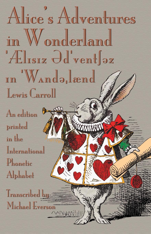 Alice In Wonderland Book Cover Ideas ~ Lewis carrolls alices adventures in wonderland u2013 in the